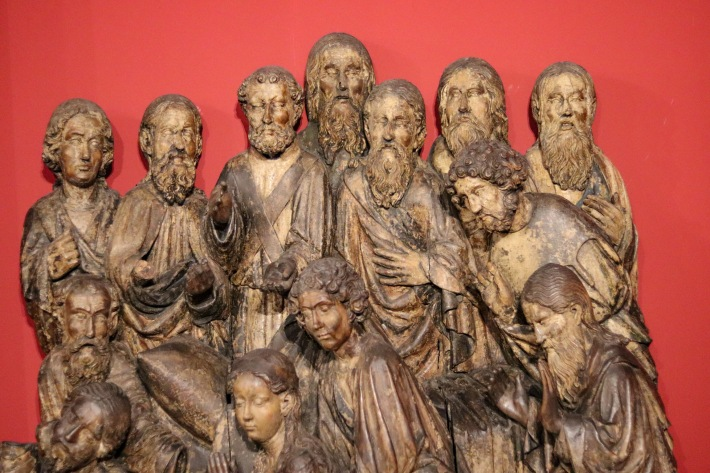 Sculptures and paintings in the pictures of this article come from the National museum of Gdansk