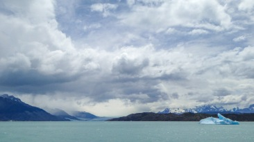 Upsala glacier from afar